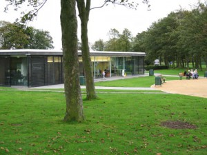New cafe and ranger base Victoria Park, Widnes