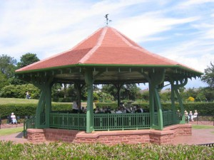 Arts and Crafts bandstand, Barrow Public Park