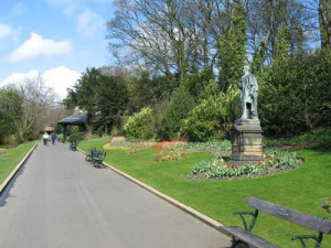 The broad walk, Saltwell Park, Gateshead