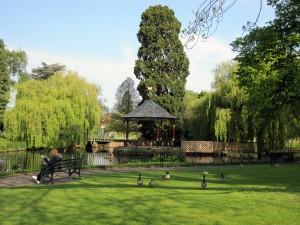 Restored bandstand - Gheluvelt Park, Worcester