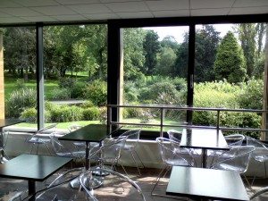 Sefton Park, Liverpool, view from the new restaurant